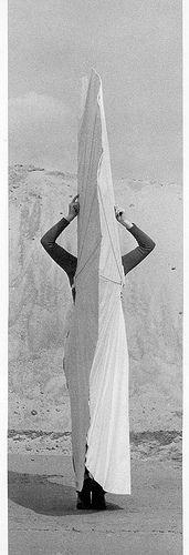 Rebecca Horn- White Body Fan