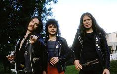 Motorhead photographed in Bordeaux, France, Oct 1979. Photo: BLUM.