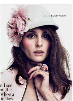 Olivia Palermo InStyle UK October 2012 \\ American socialite, model and actress Olivia Palermo photographed by Damon Baker for the cover shoot of the fashion magazine InStyle UK for their October 2012 issue. Olivia Palermo Lookbook, Olivia Palermo Style, Color Mauve, Colour, Wale, Fancy Hats, Wearing A Hat, Love Hat, Derby Hats