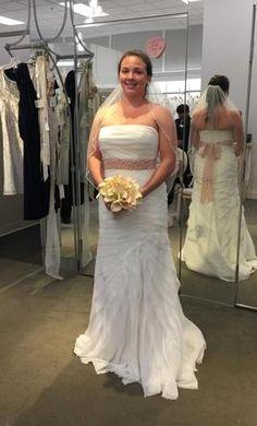 Pretty Aline Cut Wedding Dresses From Darius Bridal Wedding - Custom Wedding Dress Designers
