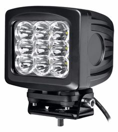 led work light for offroad atv trailers flexible 4x4 car accessories Square 90W e mark driving light