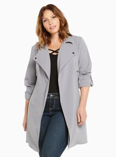 1074ec7f Jackets You Need| Torrid Plus Size | Gifts Under $75! Winter Trench Coat,