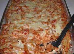 3 cheese baked ziti