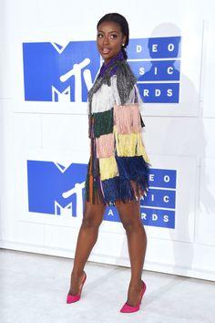 Justine Skye Photos Photos - 2016 MTV Video Music Awards - Arrivals - Zimbio