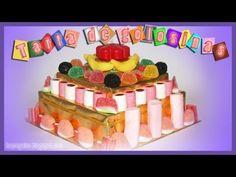Fabulosa Tarta de Golosinas - Candy Cake DIY - YouTube