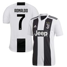 cee15a46c6e adidas Juventus Home Ronaldo 7 Jersey - Black White-Small
