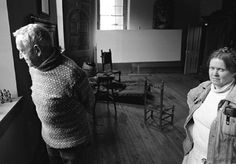 Andrew Wyeth and his muse for the 'Helga series' Helga Testorf. A secret they kept hidden for years