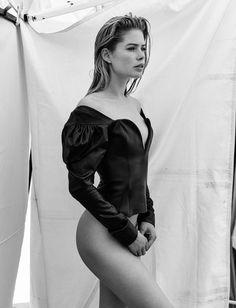 Doutzen Kroes by Chris Colls for Vogue Ukraine June 2017 - Minimal. / Visual.