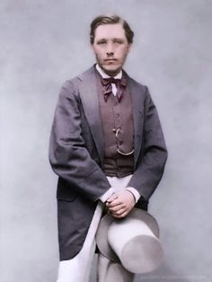 French artist Edgar Degas (1834–1917) as a young man.