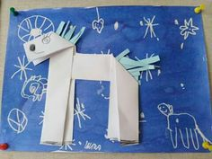 Sv.Martin Au Pair, 4 Kids, Martini, Advent, Origami, Xmas, Winter, Projects, Horse