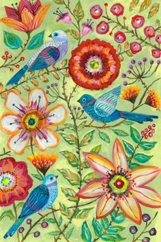 """McKenzie's Garden"" - Canvas Wall Art from Oopsy daisy, Fine Art for Kids"