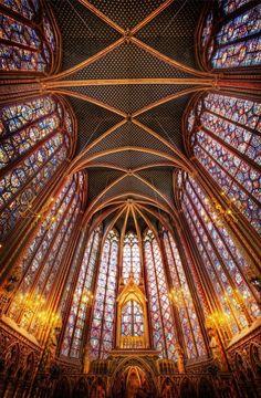 Sainte-Chapelle in Paris. By Trey Ratcliff