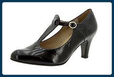 Piesanto Modelo 5207 - Zapato señora piel, confort, pies delicados, anchos especiales, zapatos cómodos - Damen pumps (*Partner-Link)