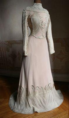 Pale Mauve color dress, 1901