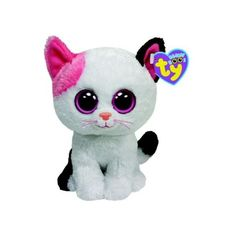 "Muffin the Kitty Cat 6"" TY Beanie Boo (Each) (36 BRL) ❤ liked on Polyvore featuring accessories, hats, cat hat, party hats, birthday hat, cat beanie and beanie hat"