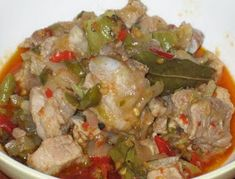 Masakan Indonesia: Resep Babi Rica-Rica Dayak