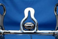 California Jolon Mouthpiece  Bridle bits by Texas spur & bit maker, Joe J. Spiller