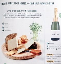 Catalan foods, cava i formatges catalans