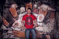 """TORQUE """"Worldwide"""" TEE as worn by FIGHTSHOP ambassador Mark Strange"""