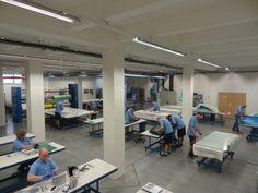 Brebeck Composite production hall. Located in Senov Ostrava, Czech Republic. www.brebeckcomposite.com #carbonfiber #composites