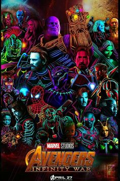 Avengers Infinity War Cool Poster