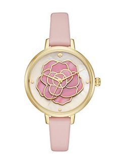 metro rose watch by kate spade new york