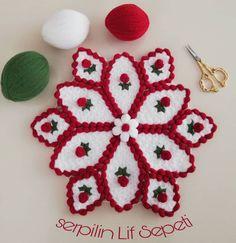 Crochet Flowers, Elsa, Crochet Earrings, Crochet Patterns, Christmas Ornaments, Knitting, Holiday Decor, Crafts, Modern