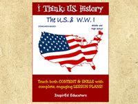 The U.S. and W.W. I (Grades 6-12)