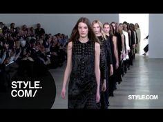 NYFW 2015: Calvin Klein Fall 2015