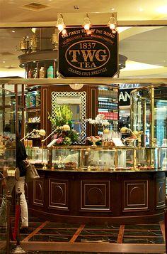 TWG Tea @ ION Orchard, Singapore