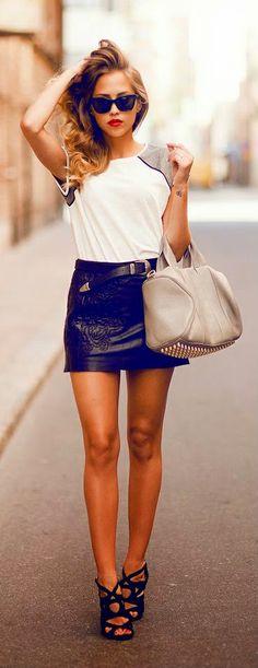 Zeliha Fashion Blog: Best Street Fashion Inspiration And Looks