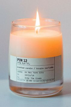 For a candle that smells like pines, cozy sweaters, and holiday cheer: Le Labo in Pin