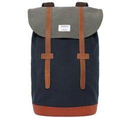 Sandqvist x Stig MultiBlue Grey x Backpack
