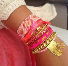Love my hipanema! Perfect bracelets for summer