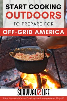 How prepared are you for cooking outdoors? Not many preppers are. But with the uncertain times, it's better to be more than prepared for anything. Let's look at some methods for cooking outdoors that you should begin to explore! #survivallife #survival #preparedness #survivalist #prepper #camping #outdoors #spring #outdoorsurvivalmeal #foilpackets #campcooking #campingrecipes #outdoorcooking Survival Life, Survival Food, Outdoor Survival, Survival Prepping, Emergency Preparedness, Survival Skills, Survival Stuff, Outdoor Cooking Stove, Outdoor Cooking Recipes