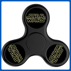 Lei-Fun Star Wars Tri-Spinner Fidget Hand Spinner High Speed Bearing Finger Toy Cool Finger Spinner Toy - Fidget spinner (*Amazon Partner-Link)
