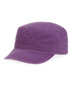 Life is Good® Smoky Plum Quilted Cadet Cap 3d98f54f4ae3