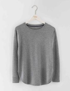 Curved Hem Sweater WV100 Knitted Sweaters at Boden Size SMALL