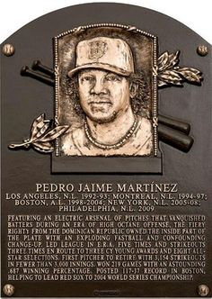 Congratulations to Pedro Martinez on his 2015 Baseball Hall Of Fame induction