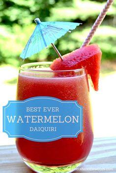 watermelon frozen drink slushie summer cocoktail daiquiri