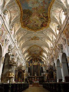 St. Emmeram cathedral,  Regensberg