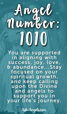 ∆ Numbers... Angel Number 1010