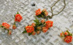 Цветы из холодного фарфора и полимерной глины   ВКонтакте
