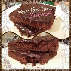 Choco Brownies #chocolate #choco  #chocobrownies #brownies #bakery  #veganbakery #veganlove  #vegan #veganfoodlove Vegan Food, Vegan Recipes, Brownies, Bakery, Chocolate, Desserts, Cake Brownies, Tailgate Desserts, Deserts
