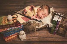 #newbornphotography #harrypotter #harrypotternewborns