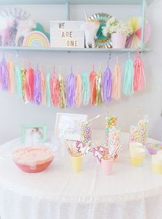 ae4d991c1 Beautiful one year old party by @werethejoneses First Birthday Party  Themes, Twin First Birthday