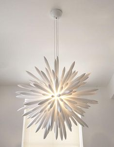 Unique Modern White Chandelier Design Home Interior Decorating - AzMyArch