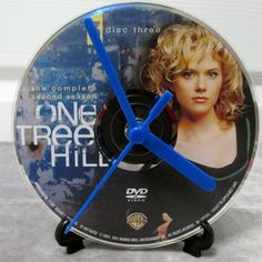 One Tree Hill DVD Clock Upcycled TV Show #2 by DarkStormTV on Etsy