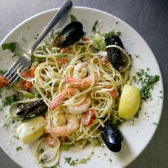 This dish, along with linguine with red clam sauce and oven-baked rigatoni, is a mainstay of the Italian-American fare served at Figaretti's in Wheeling, West Virginia.