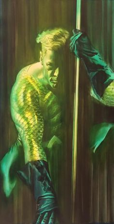 JLA Portrait - Aquaman by Alex Ross *